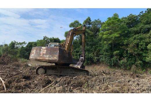 (2019年08月-2019年09月) 开挖前整地
